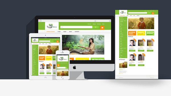 Sklep internetowy Sama Natura